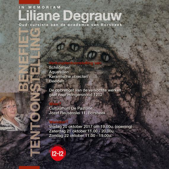 Liliane Degrauw postuum voor 12-12